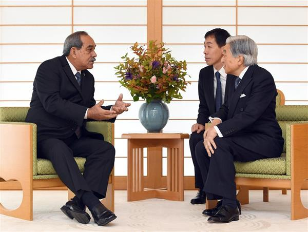 H.E. Peter Martin Christian, President of the Federated States of Micronesia (FSM) on his official working visit to Japan